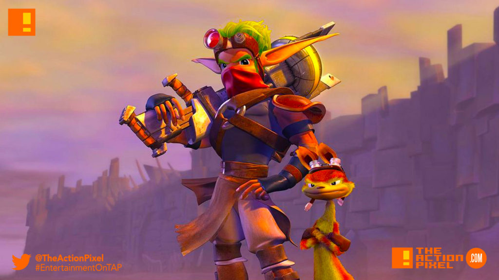 jak and daxter, the action pixel, entertainment on tap, ps2, ps4, the action pixel,