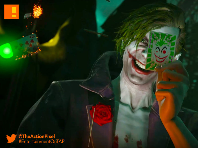 joker, injustice 2, the joker, trailer, character trailer, dc comics, netherrealm studios, wb games, superman, robin, the action pixel, entertainment on tap