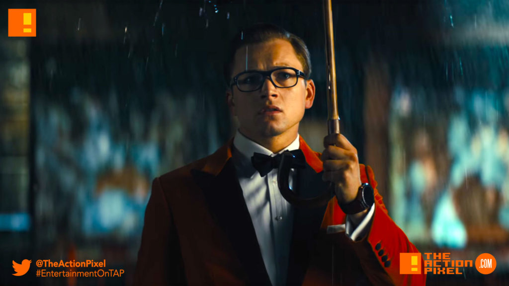 kingsman, the golden circle, kingsman 2, kingsman the golden circle, kingsman: the golden circle, eggsy, entertainment on tap, the action pixel