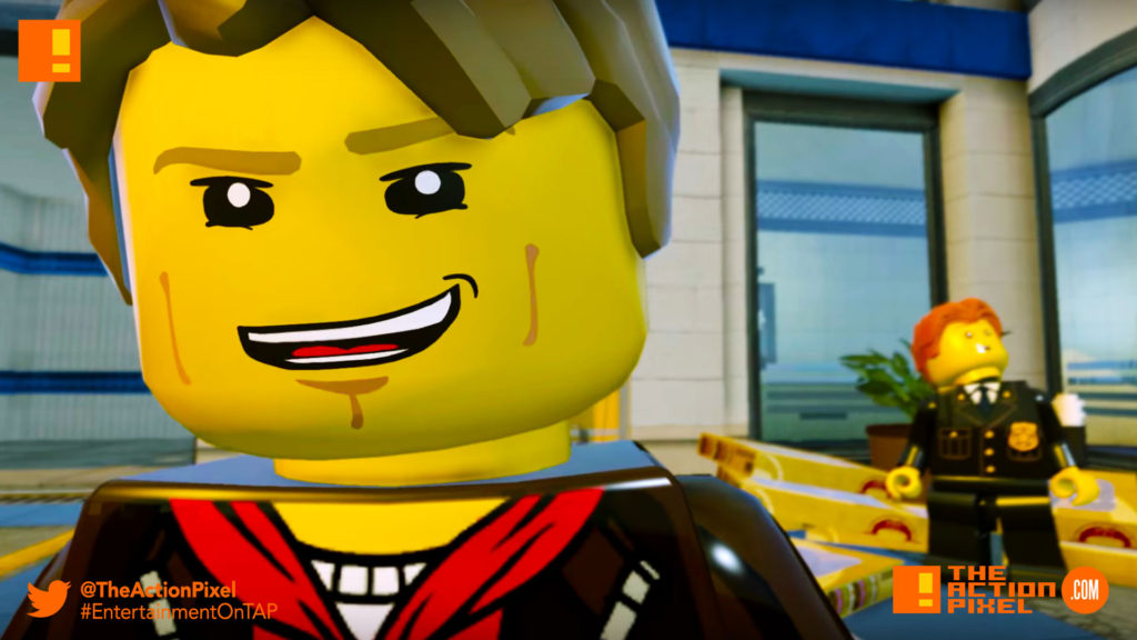 lego city undercover, the action pixel, entertainment on tap,