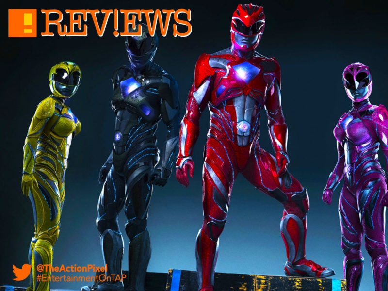 Becky G ,Trini, yellow ranger, rj cyler, billy, blue ranger, naomi scott, kimberly, pink ranger, ludi lin, zack, black ranger, dacre montgomery, jason, red ranger, elizabeth banks, rita repulsa, power rangers, the action pixel, saban, power rangers. saban, logo, movie, entertainment on tap, the action pixel, @theactionpixel, bryan cranston, zordon,power rangers, saban, the action pixel