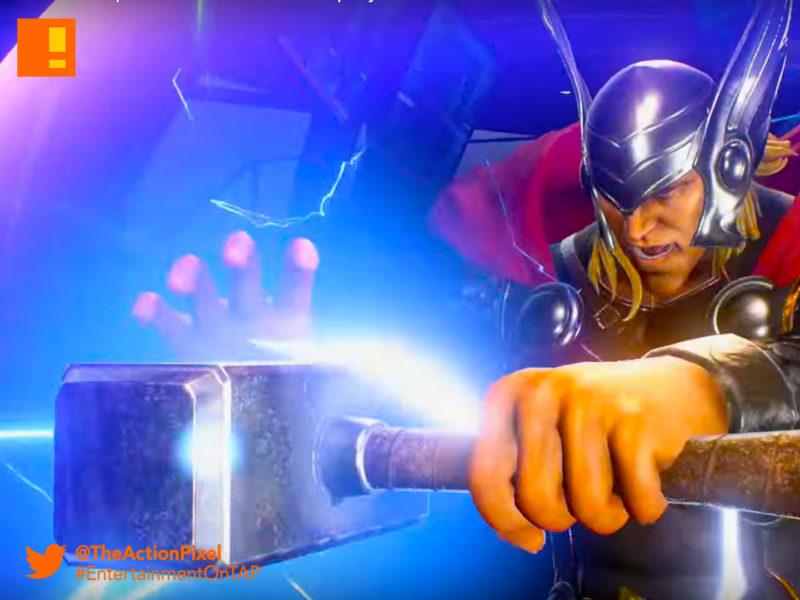 thor, hulk, marvel vs. capcom, marvel Vs. Capcom, infinite, metroid, ryu, carol Danvers, iron man, tony starks, ms. marvel, entertainment on tap, marvel, capcom, trailer, marvel vs. capcom: infinite, the action pixel, entertainment on tap,ultron, hulk, trailer,story trailer,story trailer 1, ,gameplay trailer 2, Ultron, Chun-Li, Hulk, Strider Hiryu, Thor, Chris Redfield,hawkeye