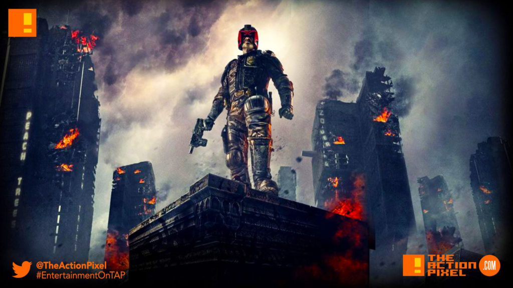 dredd, karl urban, the action pixel, 2000 AD, entertainment on tap,