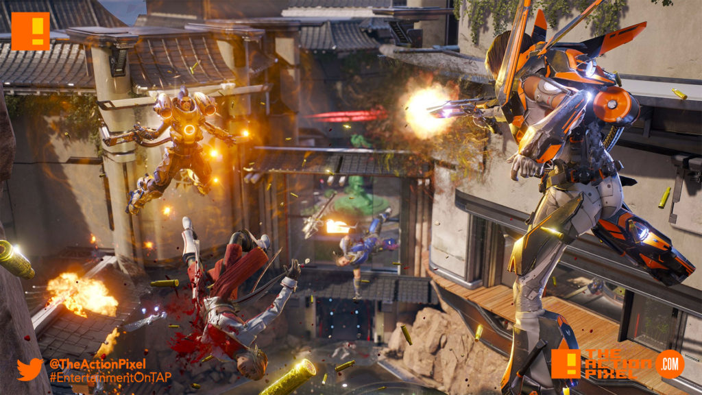 lawbreakers, the action pixel, entertainment on tap,
