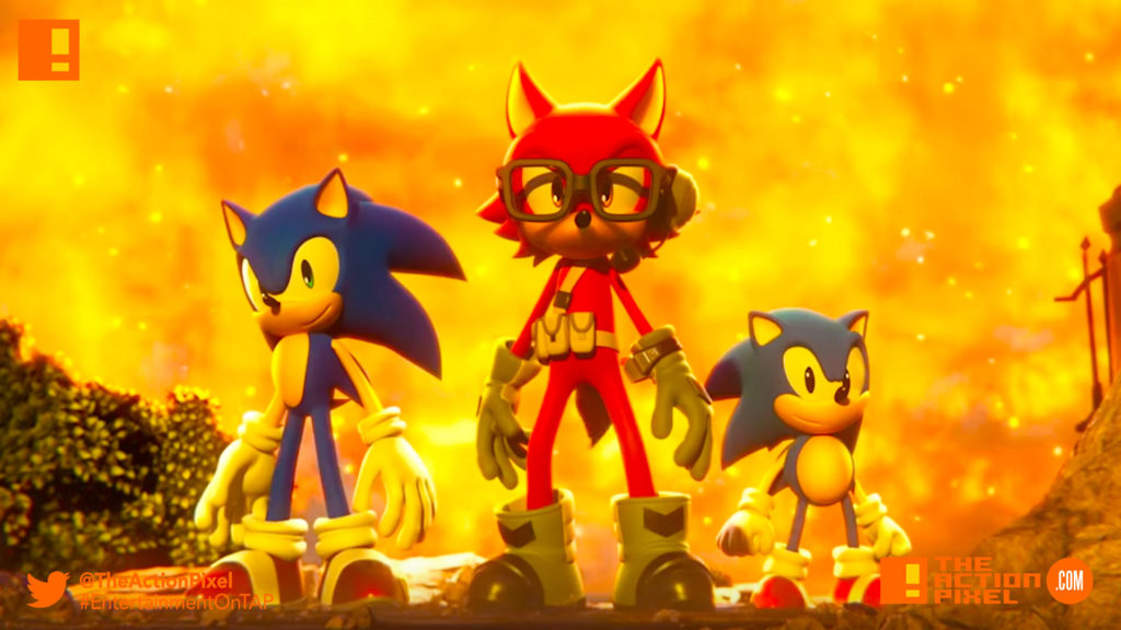 sonic forces, sonic the hedgehog, sonic,sega, knuckles, the action pixel, entertainment on tap
