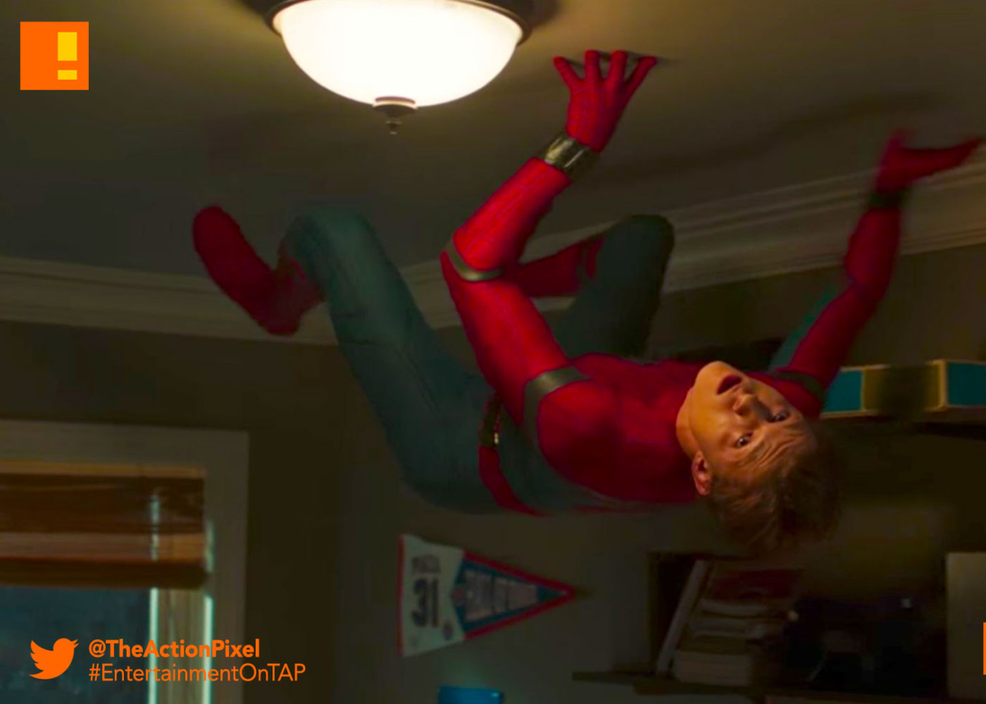 teaser, clip, mtv, spiderman, poster spider-man: homecoming, spider-man, spiderman, homecoming, marvel, marvel comics, disney, marvel studios, sony, the action pixel, entertainment on tap, tom holland, images