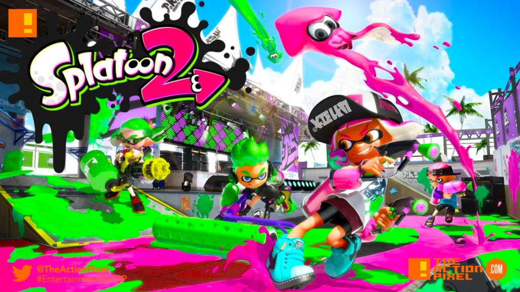 splatoon 2, nintendo, splatoon, nintendo switch, single player mode, trailer, entertainment on tap, the action pixel