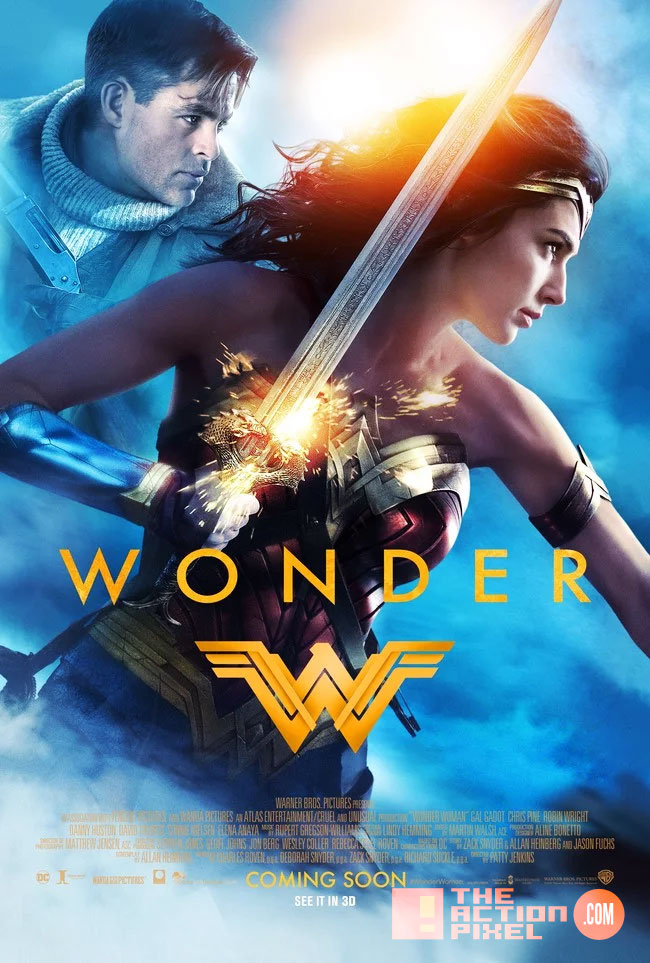 wonder woman,the action pixel, entertainment on tap, wb pictures, warner bros. entertainment , the action pixel, gal gadot, ww,bracelets, origin, trailer, poster, chris pine,