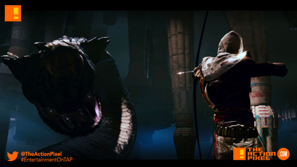 assassins creed origins, assassin's creed origins, assassins creed, assassin's creed, ubisoft, egypt, ancient egypt, gameplay , world premiere, trailer, premiere,the action pixel, entertainment on tap