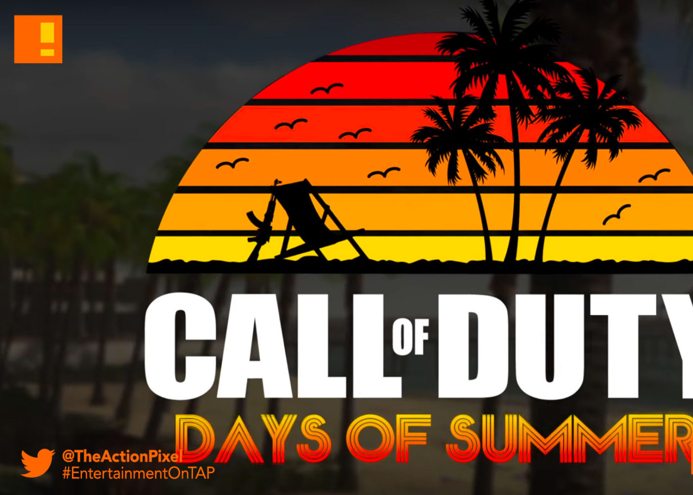call of duty days of summer, infinity ward, infinite warfare,Call of Duty: Infinite Warfare ,Call of Duty: Modern Warfare Remastered, Call of Duty: Black Ops III, the action pixel, entertainment on tap, trailer, days of summer,
