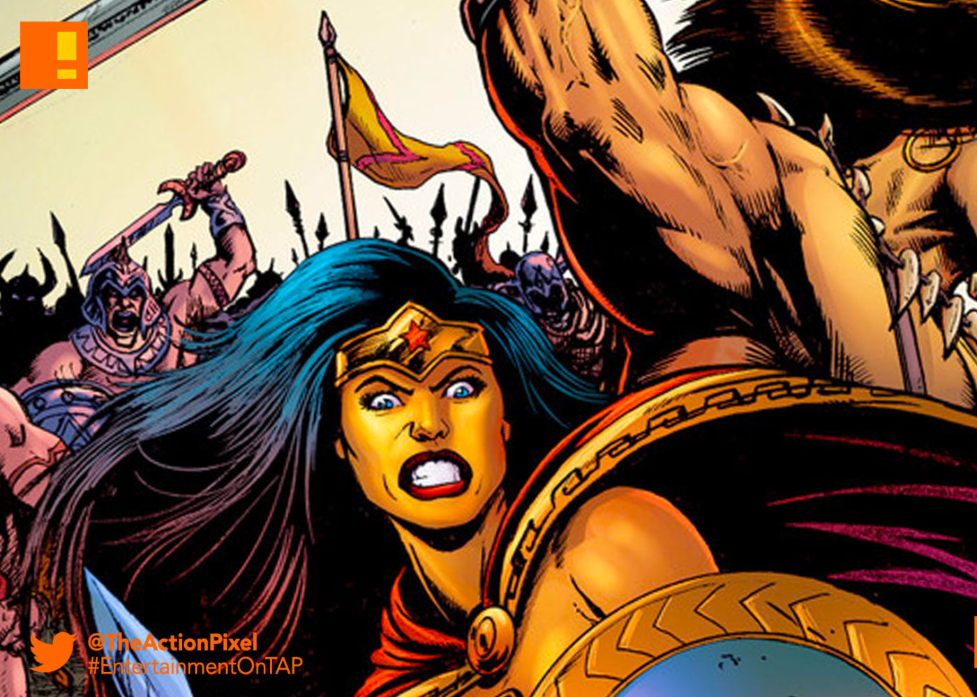 conan, wonder woman, dark horse comics, dark horse, dc comics, dc entertainment, diana, themyscara, the barbarian,conan the barbarian,