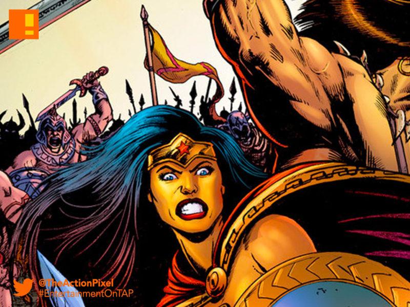 conan, wonder woman, dark horse comics, dark horse, dc comics, dc entertainment, diana, themyscara, the barbarian,conan the barbarian,