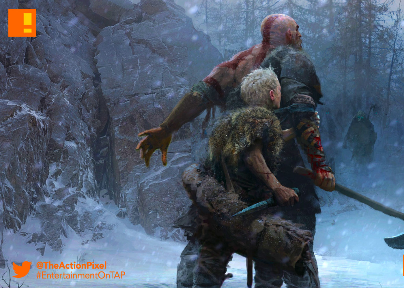 kratos, god of war, the action pixel, entertainment on tap, god of war, kratos, santa monica, the action pixel, norse, entertainment on tap,e3, e3 2017, electronic entertainment expo,