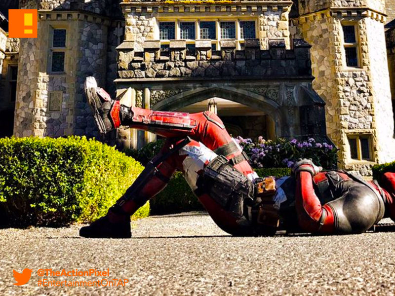 deadpool 2, x mansion, xavier institute, deadpool, marvel, 20th century fox, marvel comics, mutants, mutant, ryan reynolds , bts, set ,image, merc with the mouth, set photo, the action pixel, entertainment on tap
