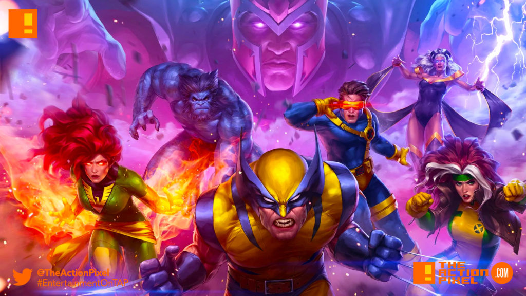 future fight , marvel, netmarble, cyclops, beast, wolverine, rogue, magneto, phoenix, jean grey, storm, the action pixel,marvel comics, marvel future fight