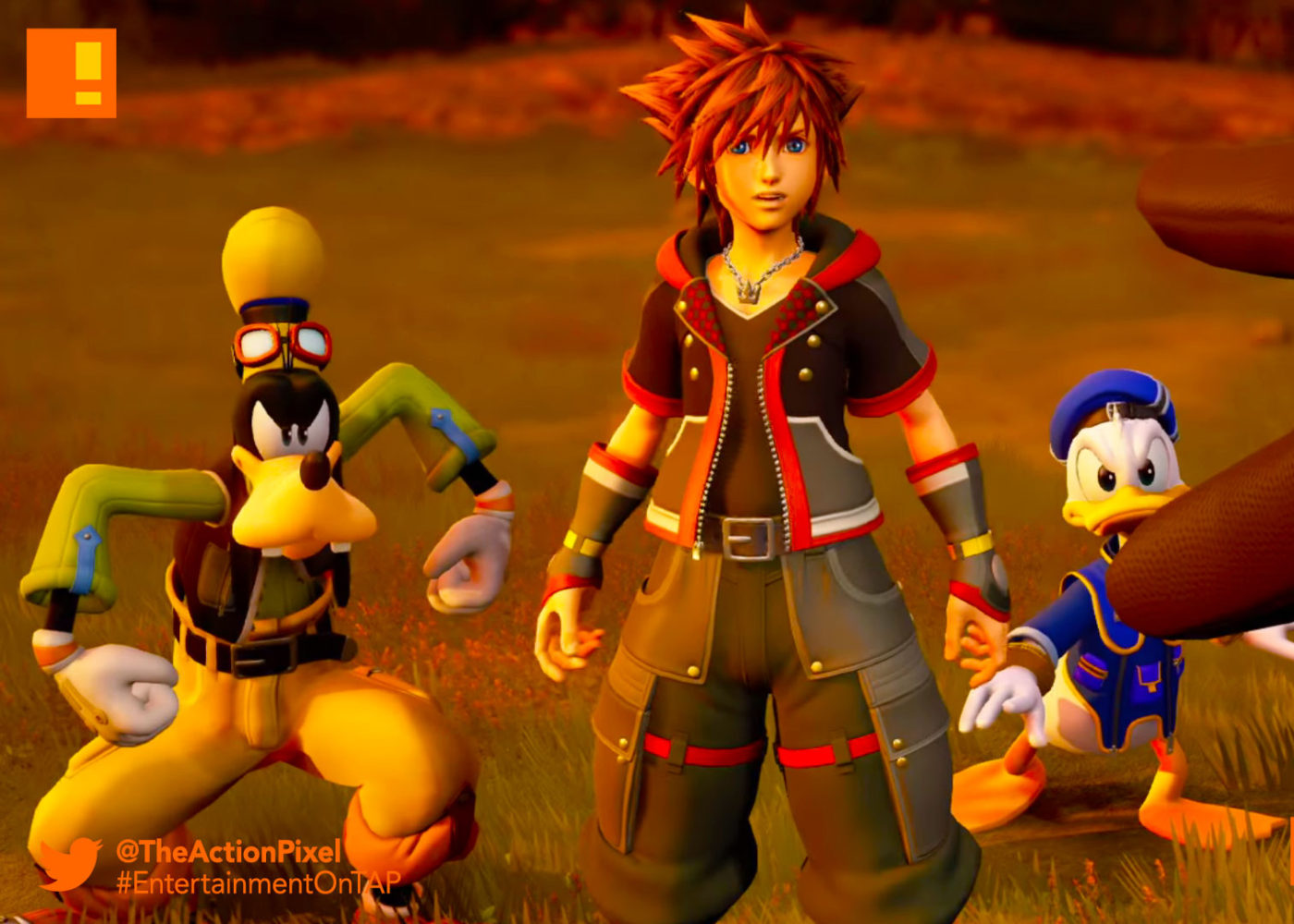kingdom hearts 3, kingdom hearts , kingdom hearts iii, orchestra, trailer , Sora, Donald, donald duck, goofy, disney, d23, the action pixel, entertainment on tap