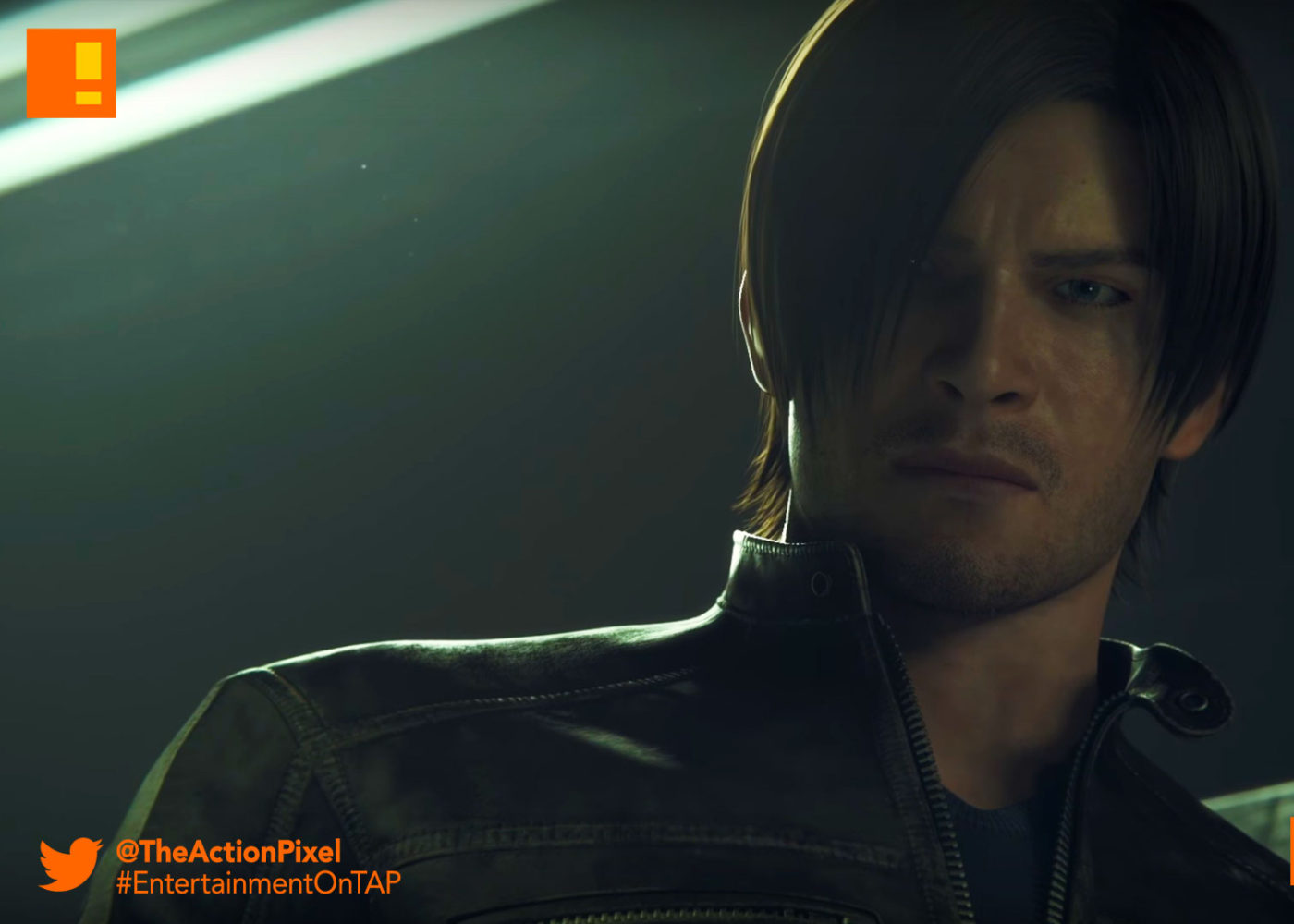 chris, leon, clip, sony pictures entertainment, resident evil: vendetta, the action pixel, resident evil, capcom, trailer, entertainment on tap, the action pixel