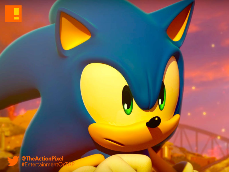 sonic forces, sonic the hedgehog, nintendo switch, sega, knuckles, tails, e3, e3 2017, the action pixel, entertainment on tap, trailer,