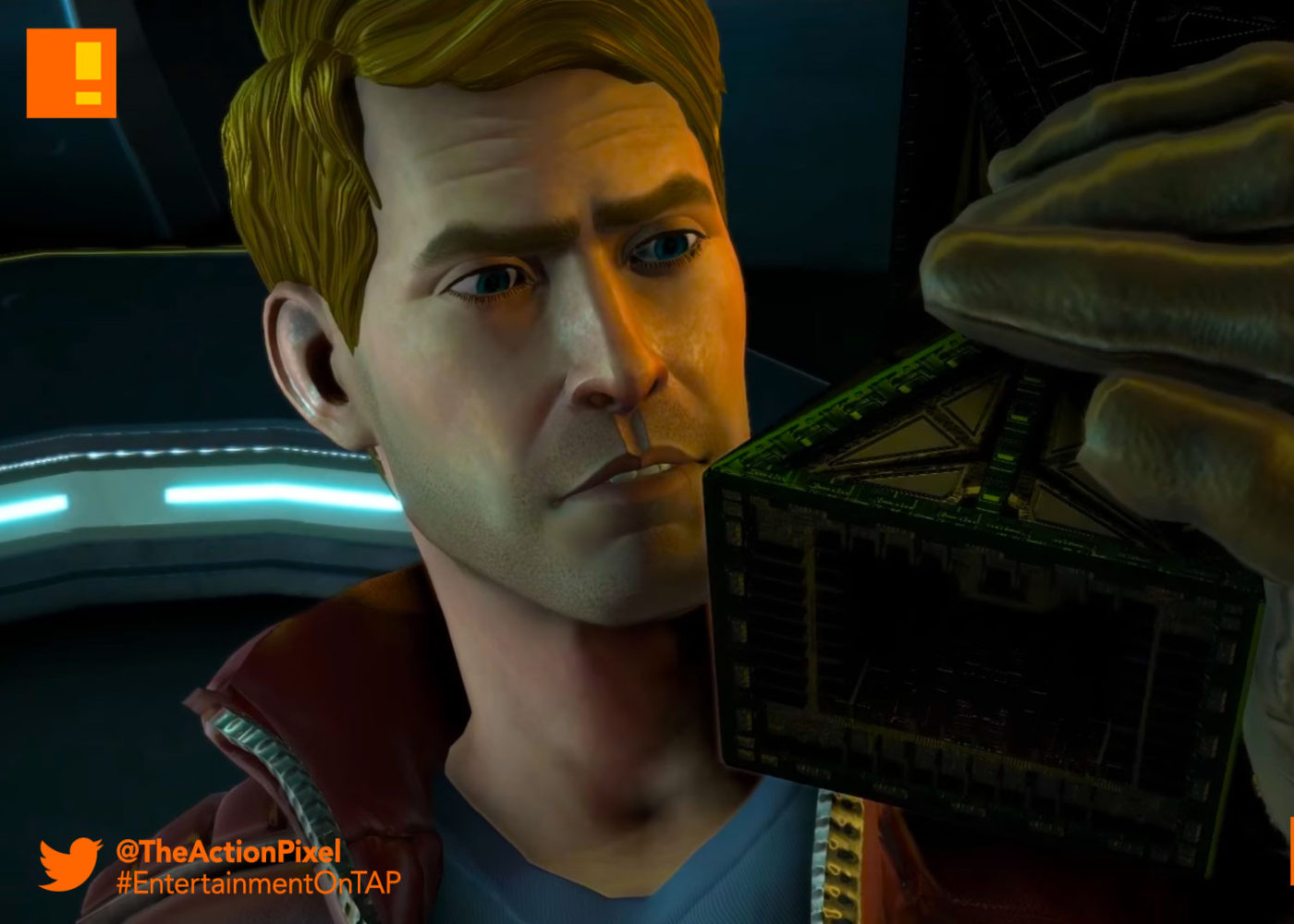 under pressure,gotg,telltale, episode 2, gotg, telltale games, telltale series, marvel, guardians of the galaxy, entertainment on tap, the action pixel,rocket ,raccoon, star-lord, drax, gamora,trailer, official trailer, launch trailer,thanos,star lord