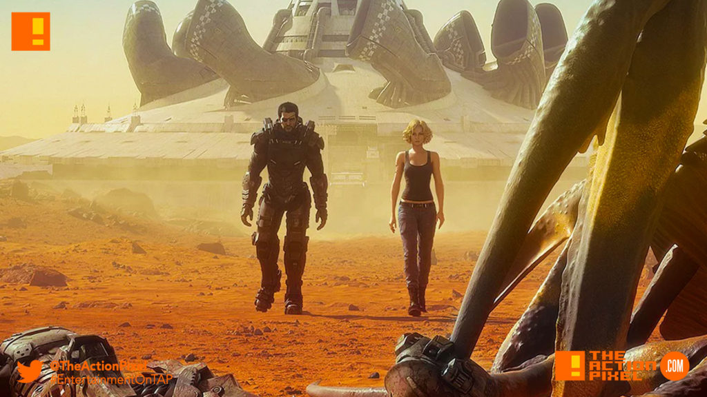 starship troopers, traitor of mars, the action pixel, poster, trailer, sony pictures, stage 6