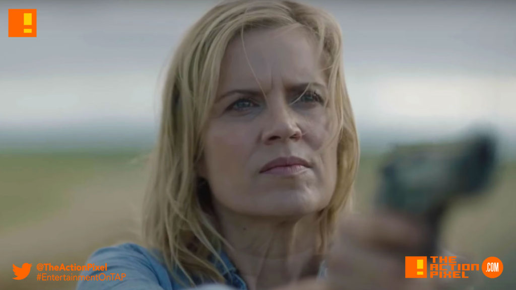 fear the walking dead, kim dickens, skybound, amc, entertainment on tap, trailer, season 3, the action pixel