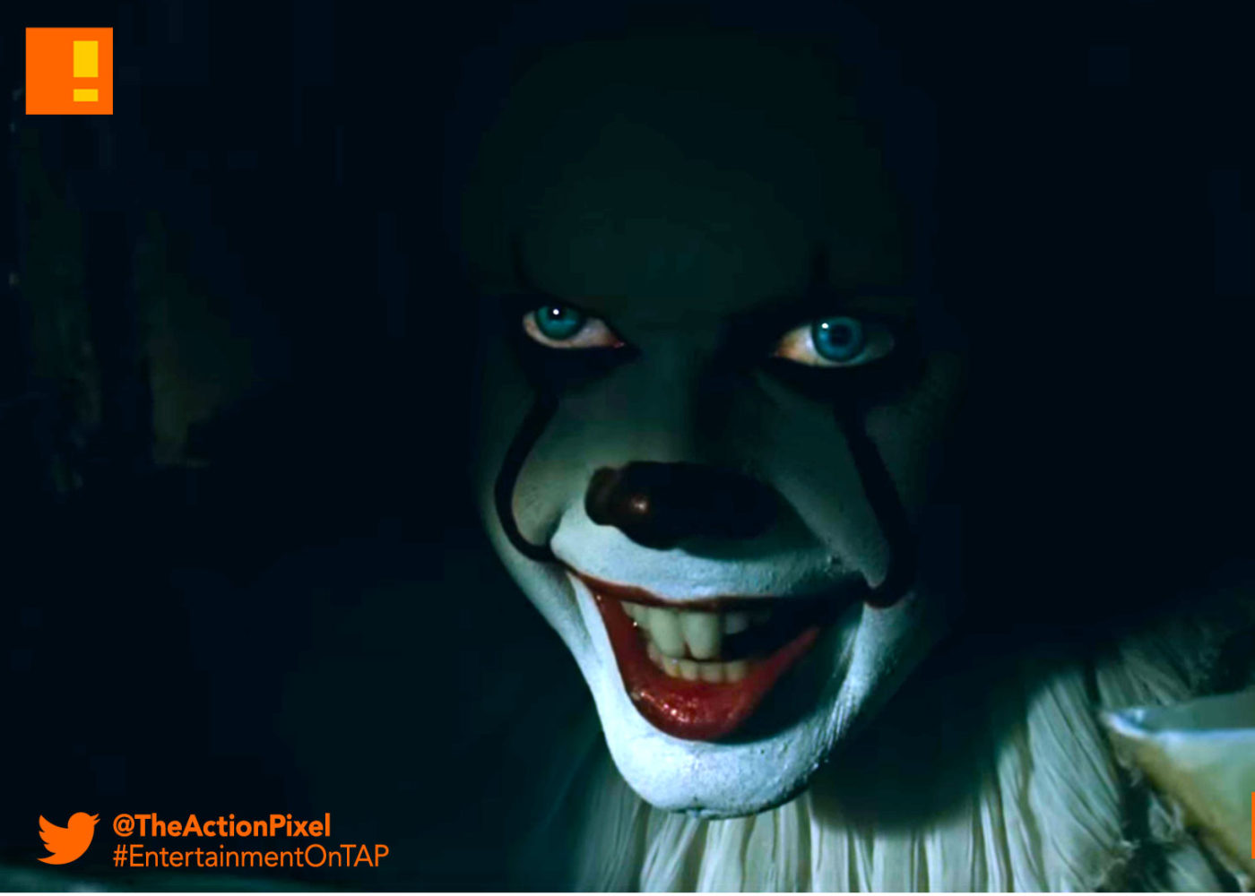 it trailer, it, warner bros. pictures, clown, horror