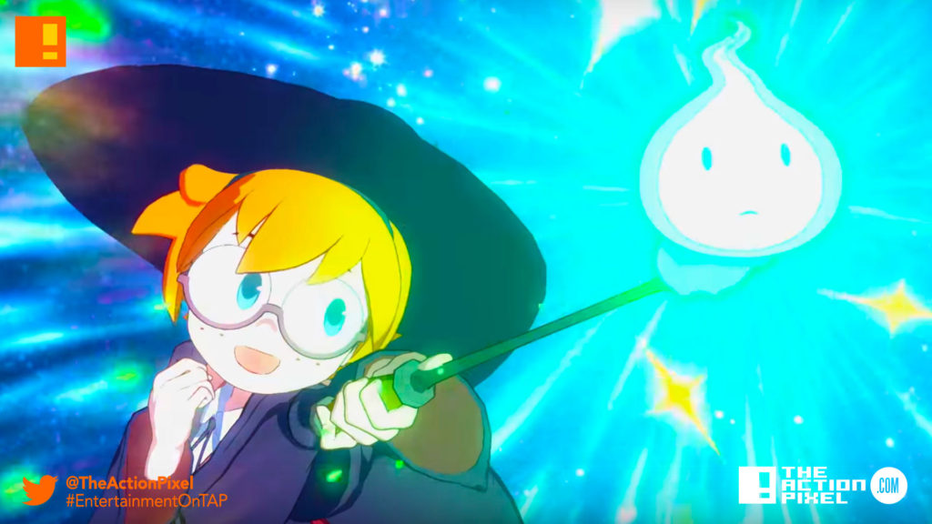 little witch academia, bandai Namco, bandai namco entertainment , chamber of time, little witch academia: chamber of time, trailer, announce trailer, akko