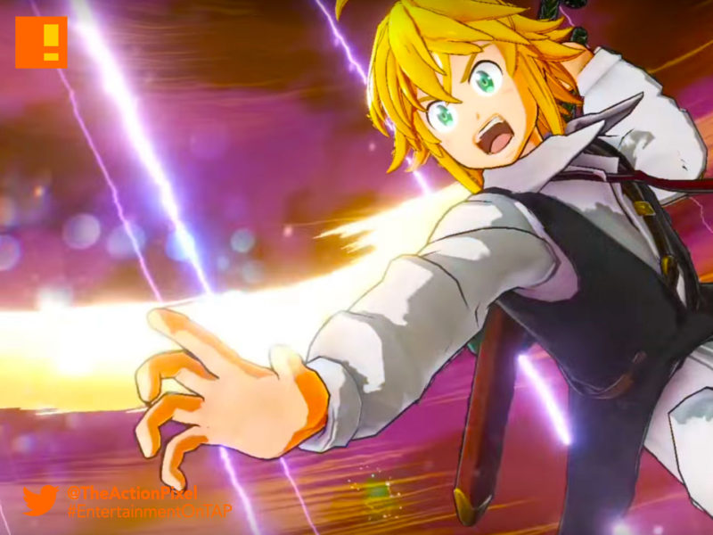 seven deadly sins, seven deadly sins: knights of britannia, bandai namco, bandai namco entertainment , the action pixel, entertainment on tap,