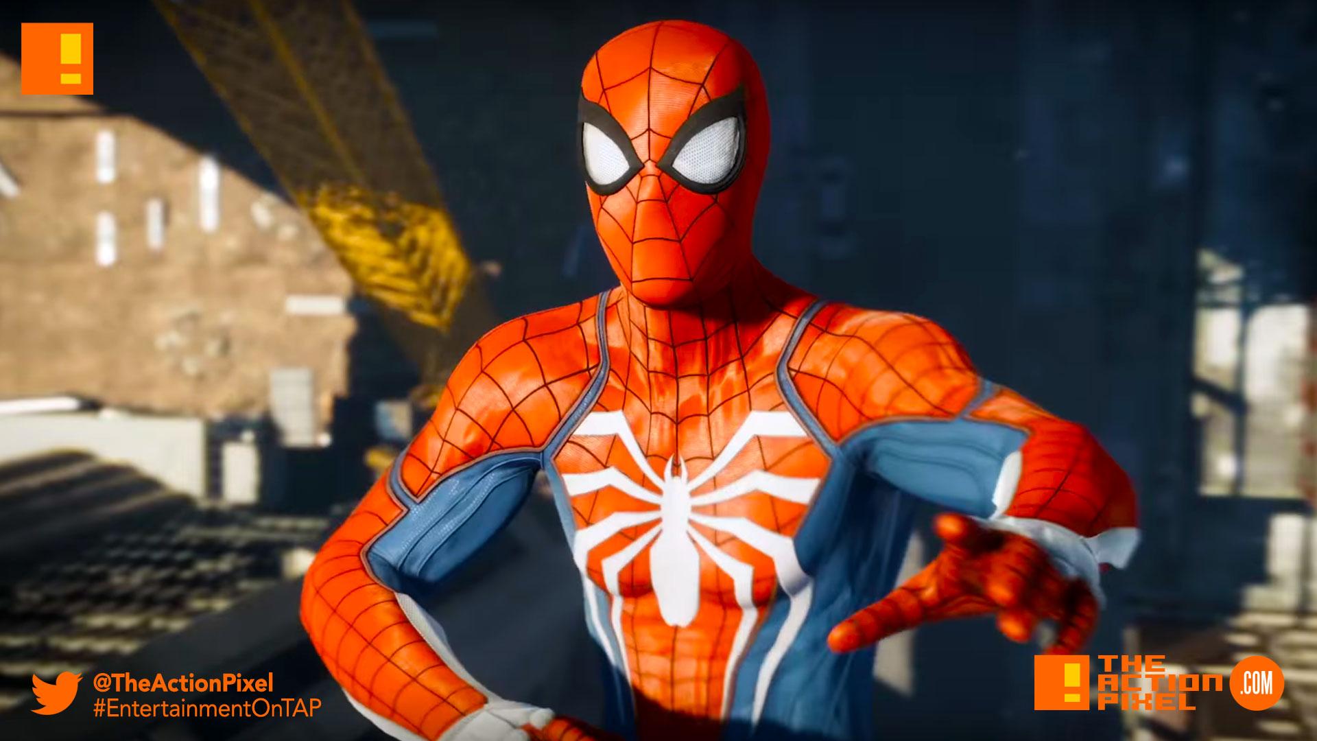 Wallpaper Spiderman Ps4 Hd