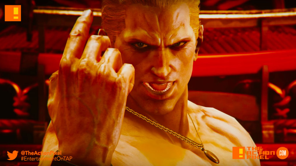 tekken 7, geese howard, the action pixel, entertainment on tap, fatal fury, bandai namco, tekken, reveal trailer, trailer,tekken 7, geese howard, the action pixel, entertainment on tap, fatal fury, bandai namco, tekken, reveal trailer, trailer,