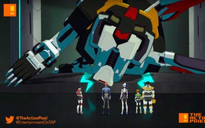 voltron, season 3, the action pixel, entertainment on tap,season 3,dreamworks animation,dreamworks
