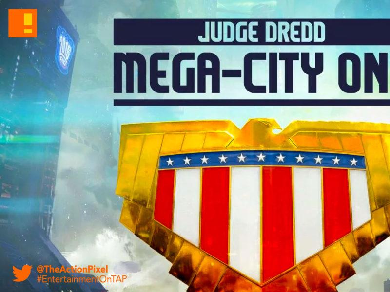 mega city one, Judge dredd, judge dredd: mega city one, rebellion, 2000 AD, entertainment on tap, the action pixel, IM Global,rebellion, concept art