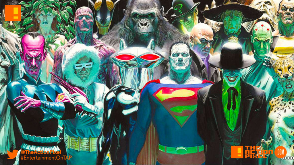 dc comics, villains, bizarro, joker, black mantis, grodd,killer frost, lex luthor, alex ross,