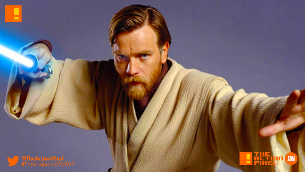 both Alec Guinness , Ewan McGregor, obi-wan kenobi, lucasfilm, disney,entertainment on tap,the action pixel