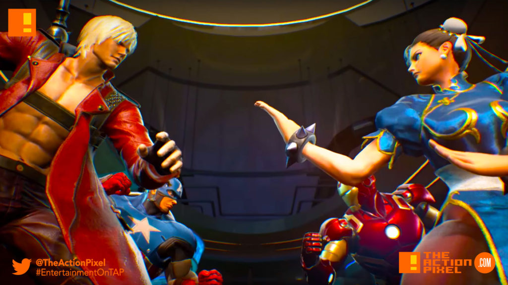 marvel Vs. Capcom, infinite, metroid, ryu, carol Danvers, iron man, tony starks, ms. marvel, entertainment on tap, marvel, capcom, trailer, marvel vs. capcom: infinite, the action pixel, entertainment on tap,ultron, hulk, trailer,story trailer,story trailer 1,