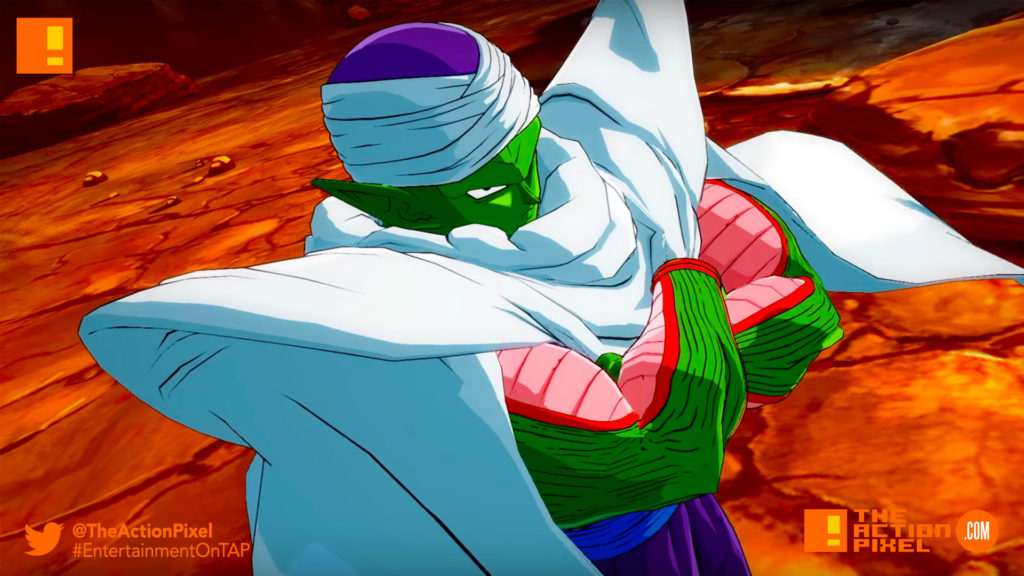 piccolo, dragon ball fighterz,dragon ball z, entertainment on tap, the action pixel
