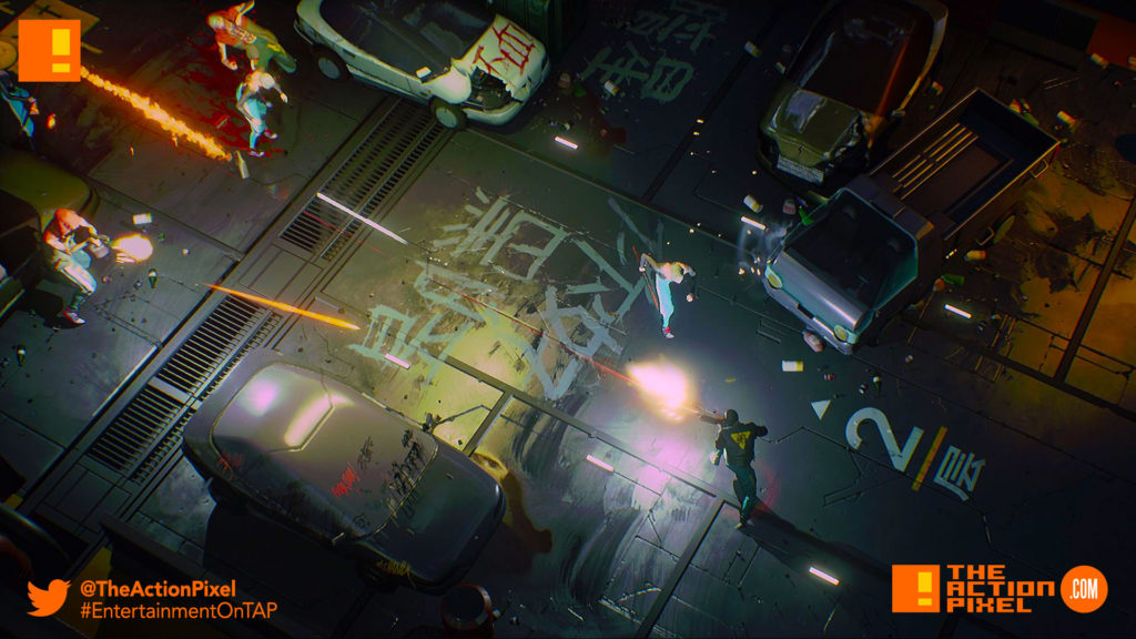 ruiner, the action pixel,ugly heart, entertainment on tap, devolver digital