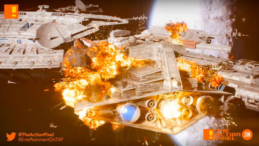 star wars: Battlefront II, Starfighter Assault, the action pixel, entertainment on tap,