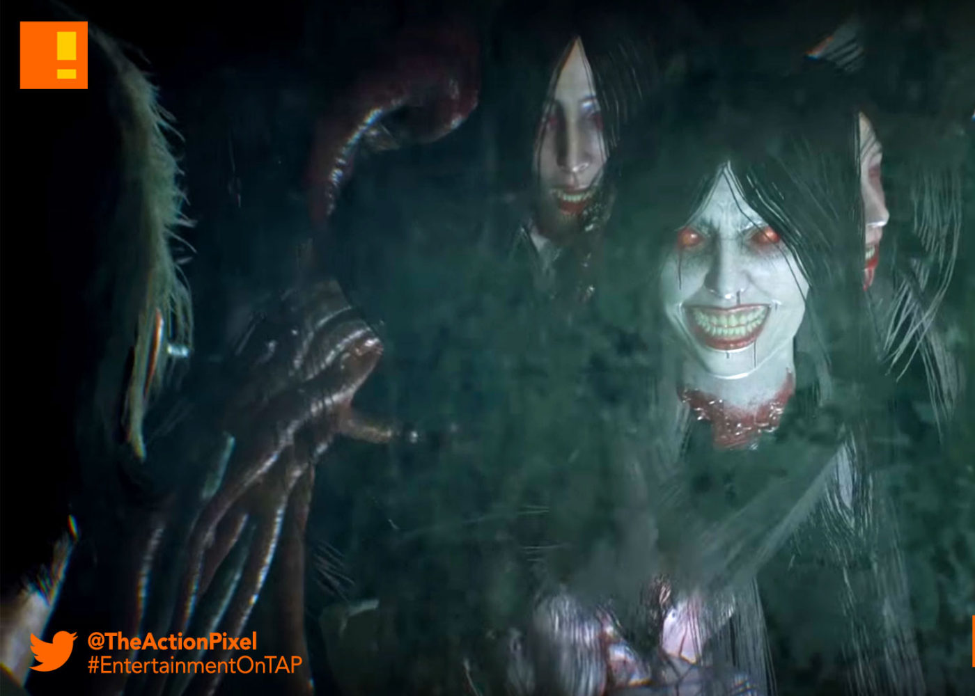 the evil within 2, the gruesome giggling guardian, trailer, gameplay, the evil within, entertainment on tap, the action pixel