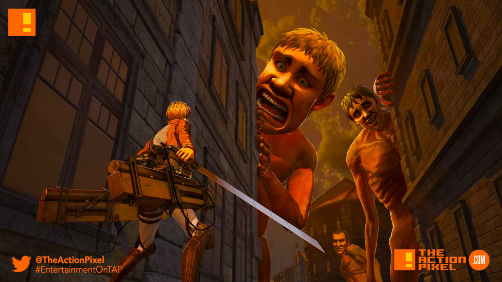 aot, attack on titan 2, koei tecmo, the action pixel, entertainment on tap,