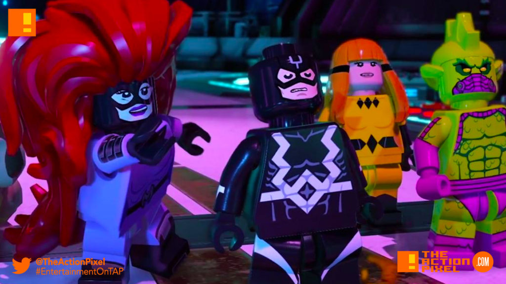 inhumans, lego marvel super heroes 2, inhumans, black bolt, maximus, medusa, lockjaw, trailer,
