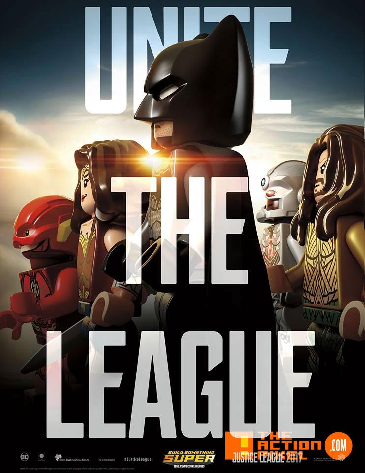 unite the league,JL, justice league, dc comics ,batman, superman, wonder woman, princess diana, diana prince, bruce wayne, ben affleck, batfleck, batffleck, gal gadot, cyborg, ray fisher, aquaman, jason momoa, arthur , flash,ezra miller, justice league movie, zack snyder, poster, wb pictures, warner bros. pictures, warner bros, the action pixel, entertainment on tap,teaser, poster, lego, warner bros. pictures, the action pixel,