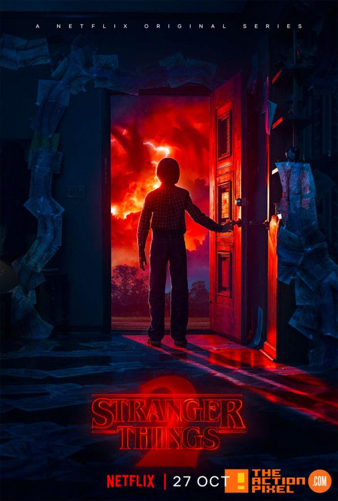 season 2, stranger things 2, stranger things, the action pixel, entertainment on tap,netflix,sdcc , trailer,poster,
