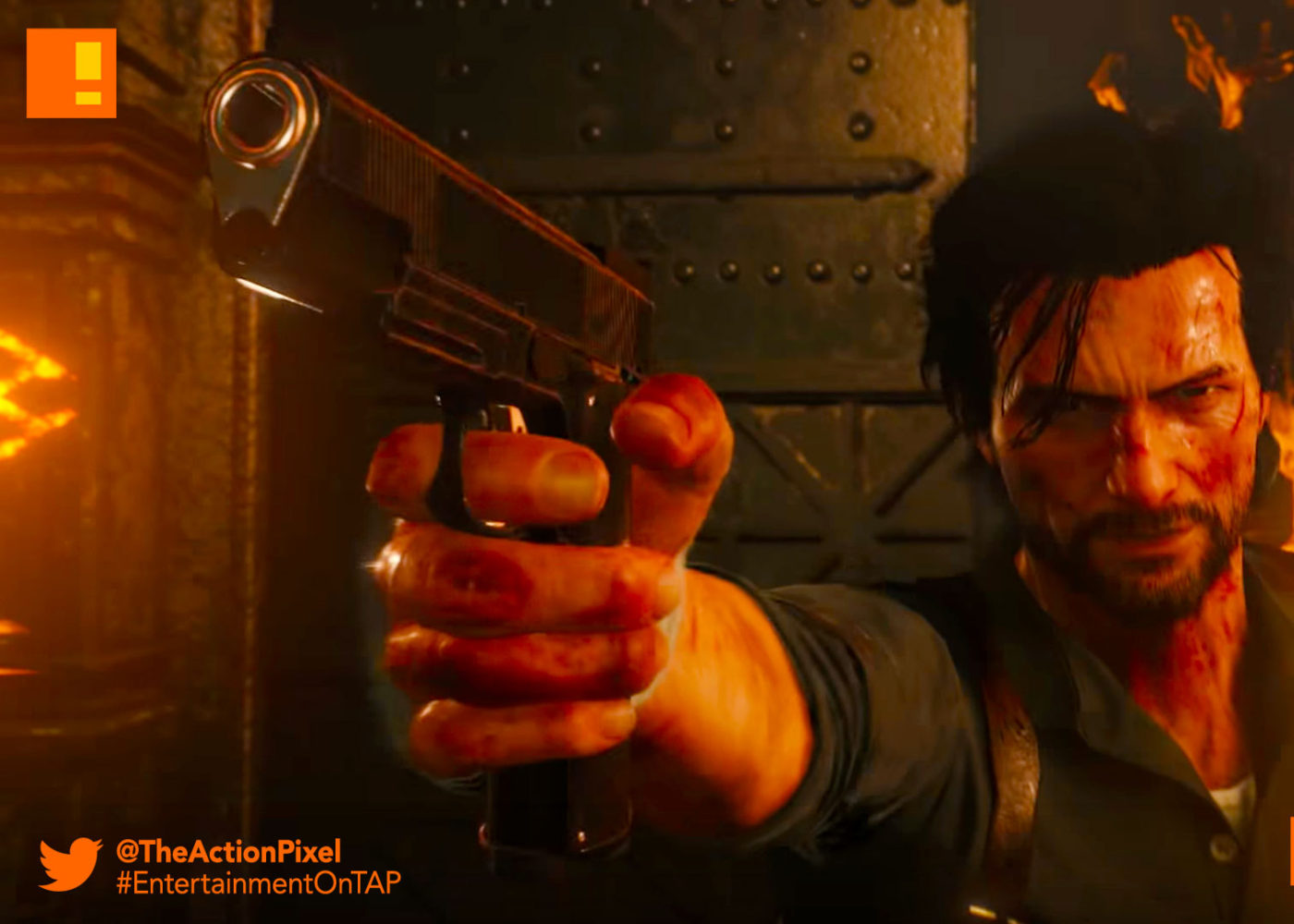 the evil within 2, the evil within II, bethesda, bethesda softworks,e3 2017, e3, electronic entertainment expo, the action pixel, entertainment on tap,gameplay, gameplay trailer, sebastian, lily,