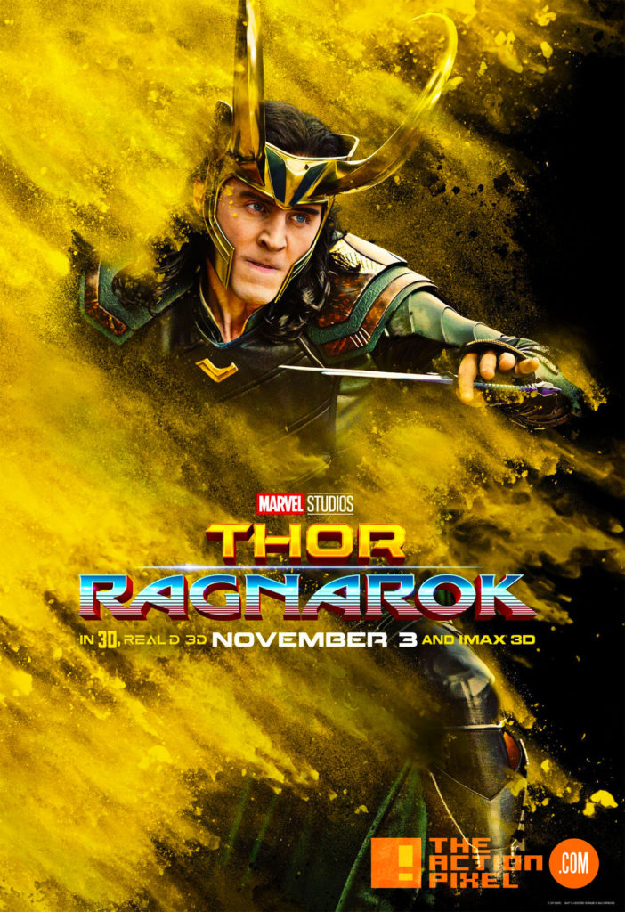 loki, thor ragnarok, hulk, ragnarok, thor, thor: ragnarok, marvel, marvel comics, tom hiddleston,chris hemsworth, david banner, entertainment on tap, the action pixel, marvel studios, teaser, trailer, teaser trailer,poster, the action pixel, hera, idris elba,