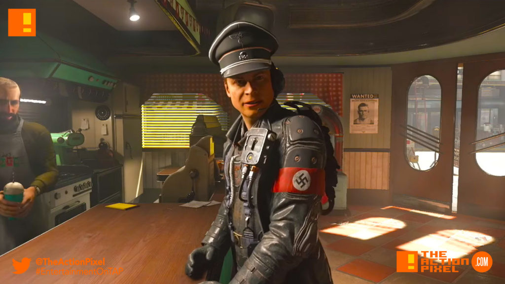 wolfenstein ii,wolfenstein II: The New Colossus, wolfenstein, bethesda softworks,bethesda, the action pixel, entertainment on tap, trailer, video, promo,the reunion, developer, playthrough,