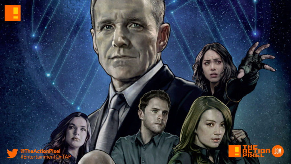 agents of shield, poster, the action pixel, entertainment on tap,poster,marvel tv, marvel