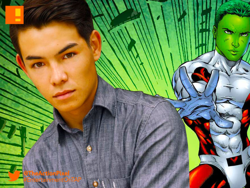 beast boy, ryan potter, teen titans ,titans, the action pixel, casting , dc comics,nightwing, Brenton Thwaites, dc comics , titans, the action pixel, robin, TEAGAN CROFT, raven, starfire, dc comics, the action pixel, anna diop, entertainment on tap,dove, hawk, Hank Hall, minka kelly, Alan Ritchson, dawn granger, the action pixel, titans, dc comics, dc entertainment,entertainment on tap,casting, cast