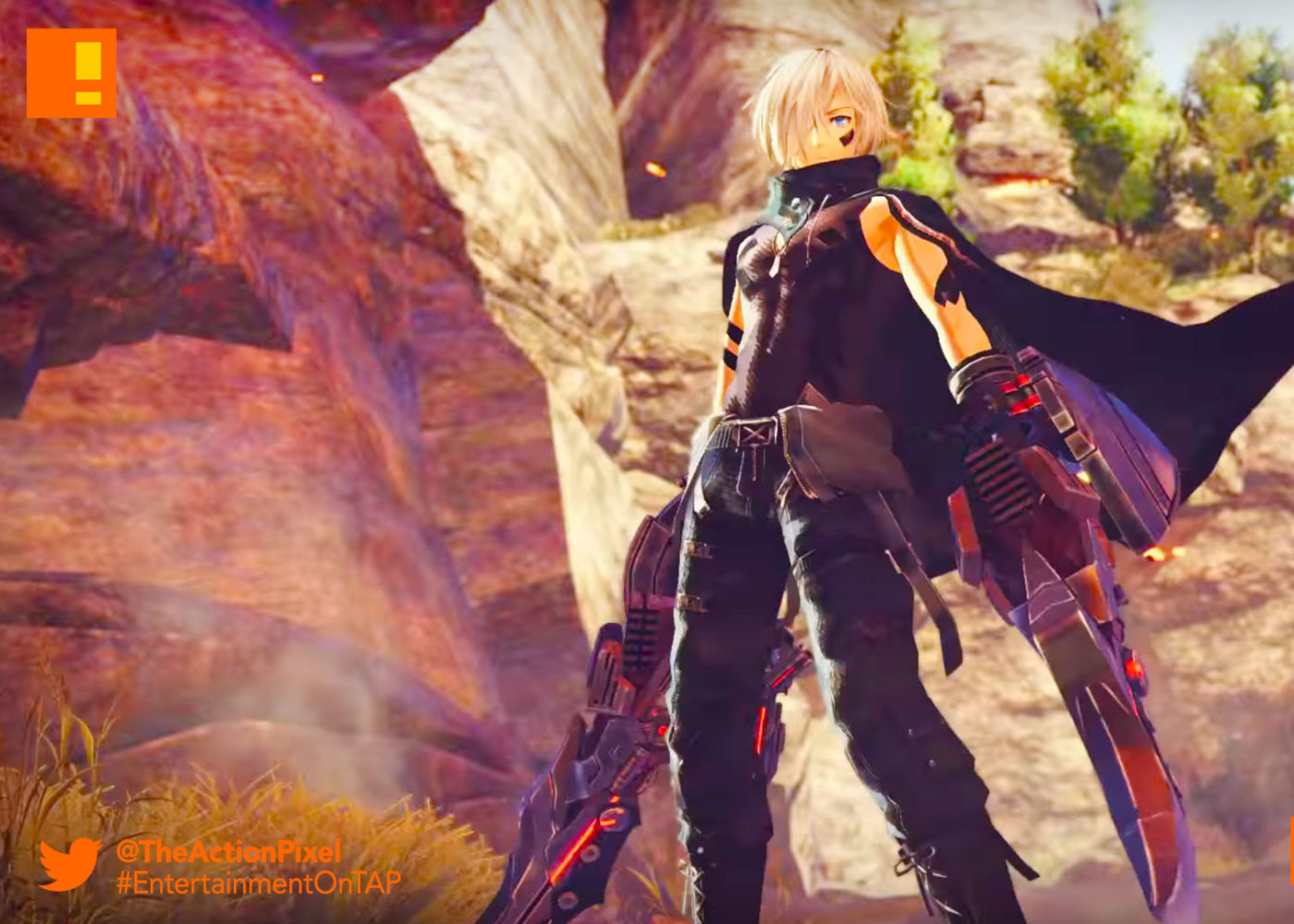 godeater 3, godeater, god eater 3, the action pixel, entertainment on tap,god arc,bandai namco, aragami, bandai namco entertainment, the action pixel, entertainment on tap,