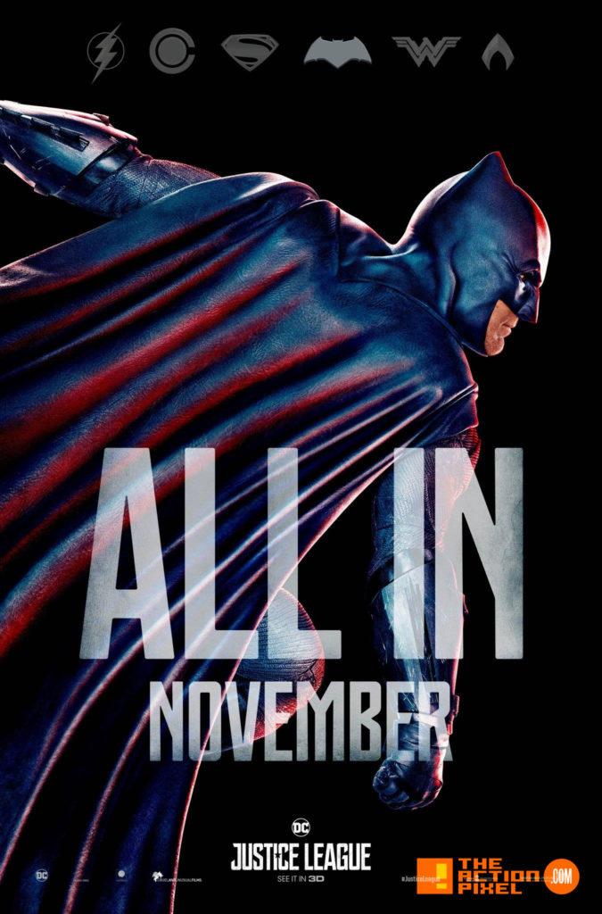 unite the league,JL, justice league, dc comics ,batman, superman, wonder woman, princess diana, diana prince, bruce wayne, ben affleck, batfleck, batffleck, gal gadot, cyborg, ray fisher, aquaman, jason momoa, arthur , flash,ezra miller, justice league movie, zack snyder, poster, wb pictures, warner bros. pictures, warner bros, the action pixel, entertainment on tap,teaser, poster, all in, november